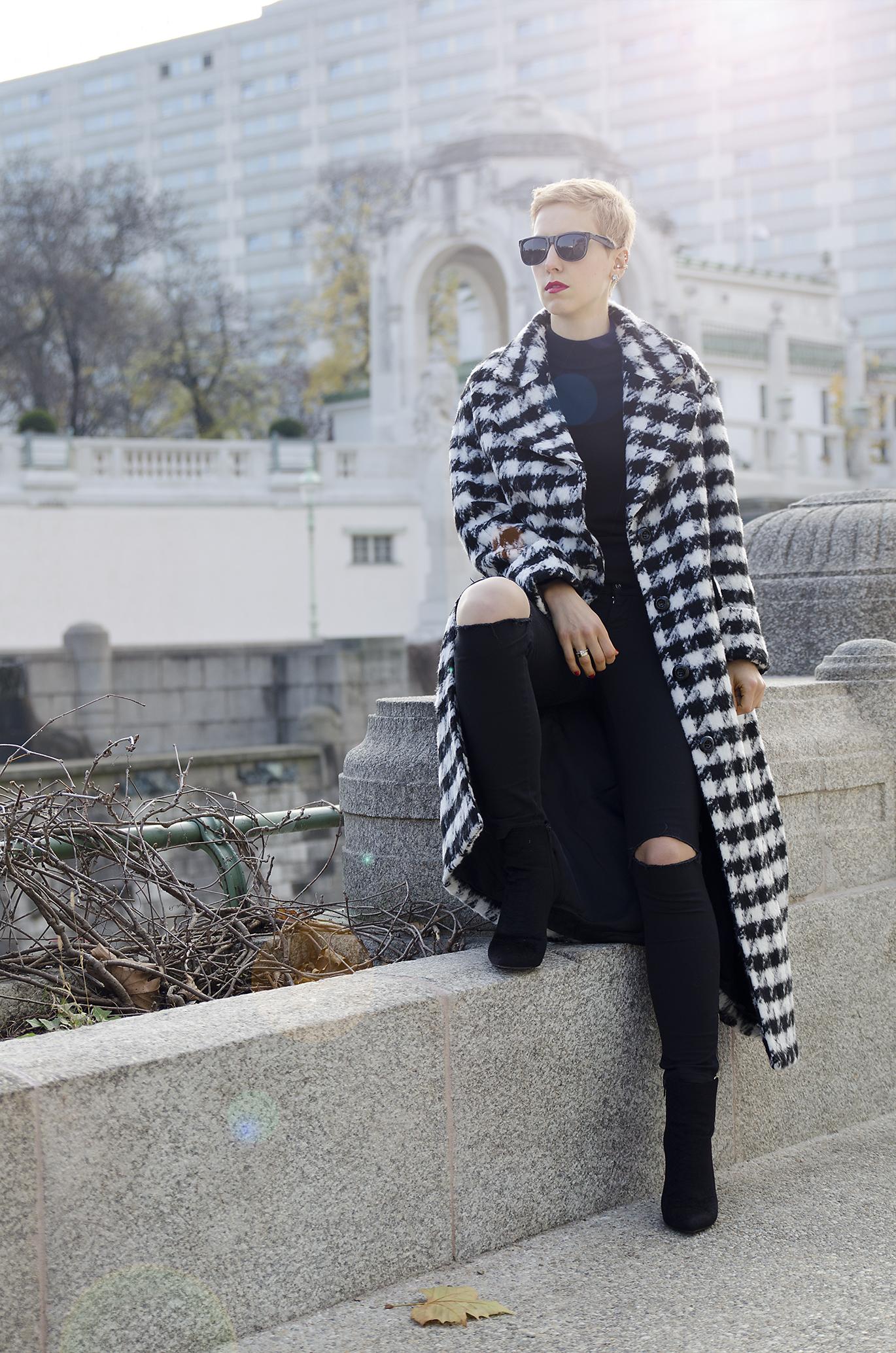maxi coat h&m trend beeswonderland