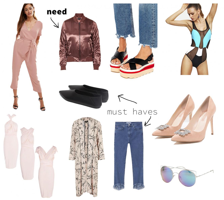 shopping wishlist