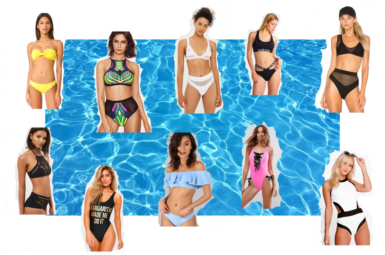 trendy swimwear