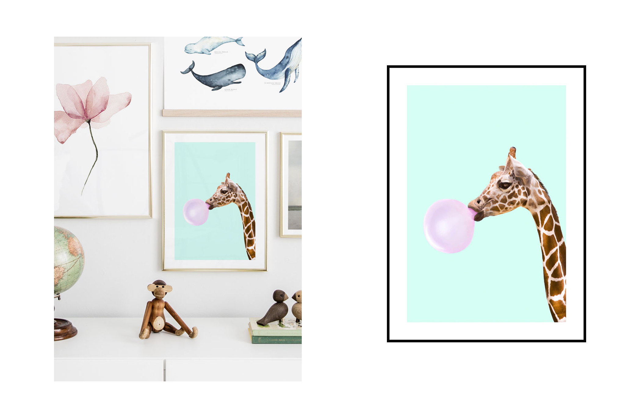 toddler room wall pictures